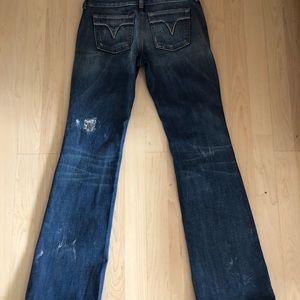 Women's diesel jeans 25W 32L